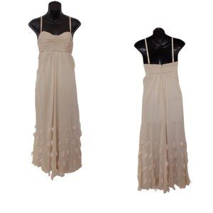 Guess by Marciano Silk & Feather Gown- Sz. XS